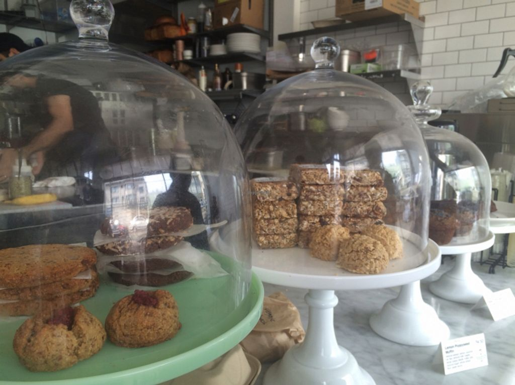 """Photo of Nourish Cafe - Richmond District  by <a href=""""/members/profile/serrarose"""">serrarose</a> <br/>lots of vegan treats to choose from <br/> April 19, 2016  - <a href='/contact/abuse/image/56623/145322'>Report</a>"""