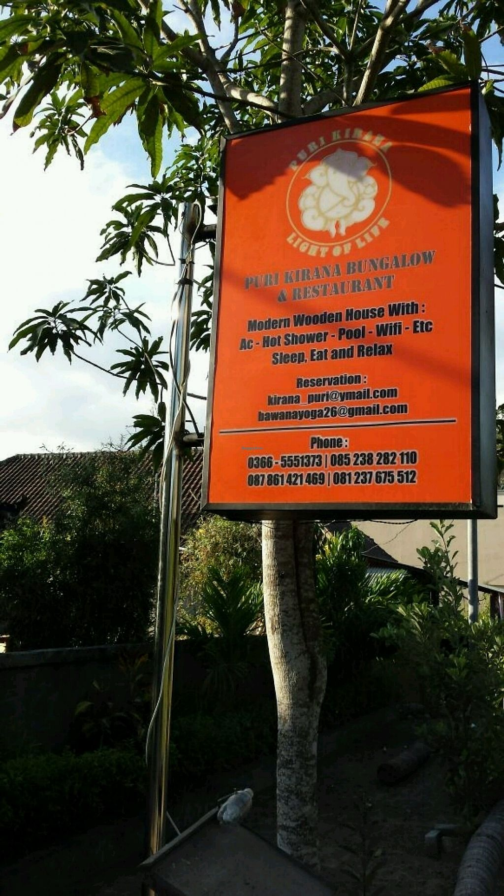 """Photo of Puri Kirana  by <a href=""""/members/profile/VanessaW"""">VanessaW</a> <br/>Restaurant sign  <br/> August 16, 2017  - <a href='/contact/abuse/image/56640/293224'>Report</a>"""