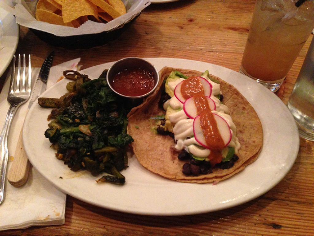 """Photo of Taco Chulo  by <a href=""""/members/profile/jdfunks"""">jdfunks</a> <br/>vegan taco  <br/> June 19, 2016  - <a href='/contact/abuse/image/56655/154908'>Report</a>"""