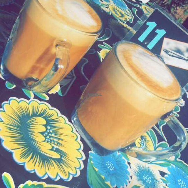 "Photo of Tia B's La Waffleria  by <a href=""/members/profile/Veg21"">Veg21</a> <br/>hazelnut/almond milk lattes <br/> August 31, 2016  - <a href='/contact/abuse/image/56673/172680'>Report</a>"