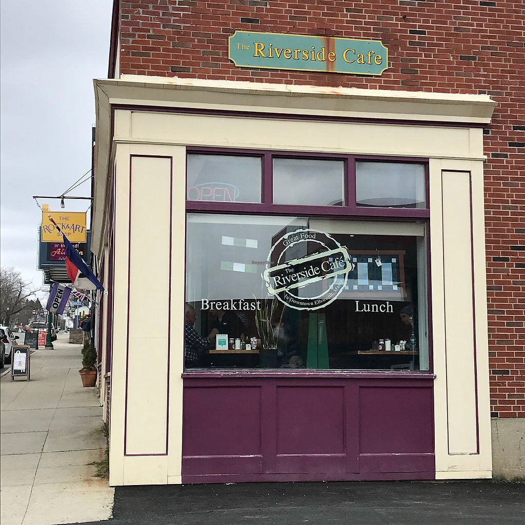 """Photo of Riverside Cafe  by <a href=""""/members/profile/Sarah%20P"""">Sarah P</a> <br/>Store front <br/> April 18, 2018  - <a href='/contact/abuse/image/5669/387840'>Report</a>"""