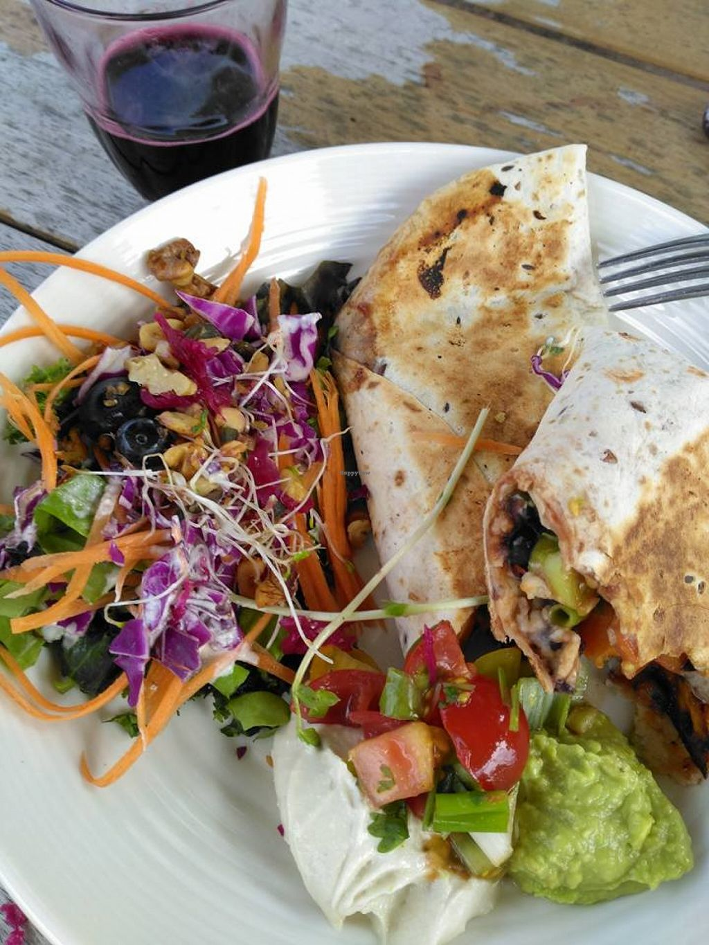"""Photo of Food Forest Organics  by <a href=""""/members/profile/Davidnoix"""">Davidnoix</a> <br/>My burrito for lunch <br/> January 29, 2016  - <a href='/contact/abuse/image/56720/134138'>Report</a>"""