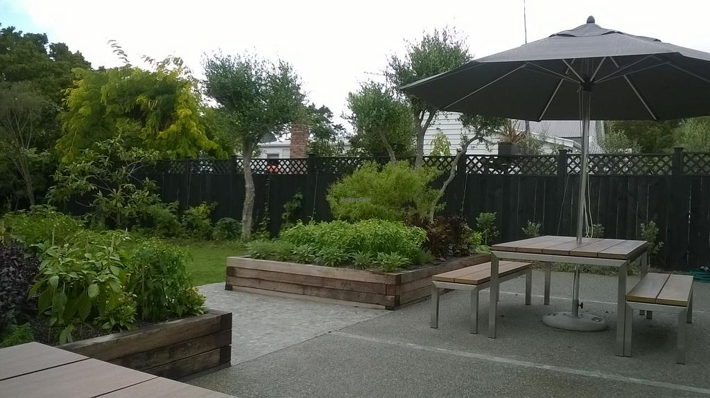 """Photo of Food Forest Organics  by <a href=""""/members/profile/Yolanda"""">Yolanda</a> <br/>Garden seating <br/> March 20, 2015  - <a href='/contact/abuse/image/56720/96321'>Report</a>"""