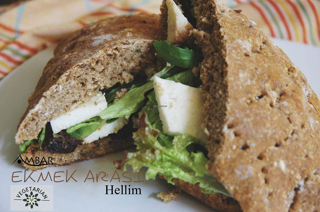 "Photo of Ambar Cafe & Organic Shop  by <a href=""/members/profile/Ambar%20Cafe"">Ambar Cafe</a> <br/>Sandwich with Halloumi <br/> March 22, 2015  - <a href='/contact/abuse/image/56758/96595'>Report</a>"