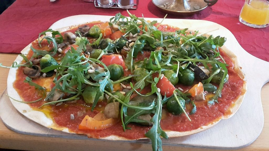 """Photo of Torschenke  by <a href=""""/members/profile/Phinoa"""">Phinoa</a> <br/>Vegan Tarte Flambée <br/> February 18, 2018  - <a href='/contact/abuse/image/56764/360974'>Report</a>"""