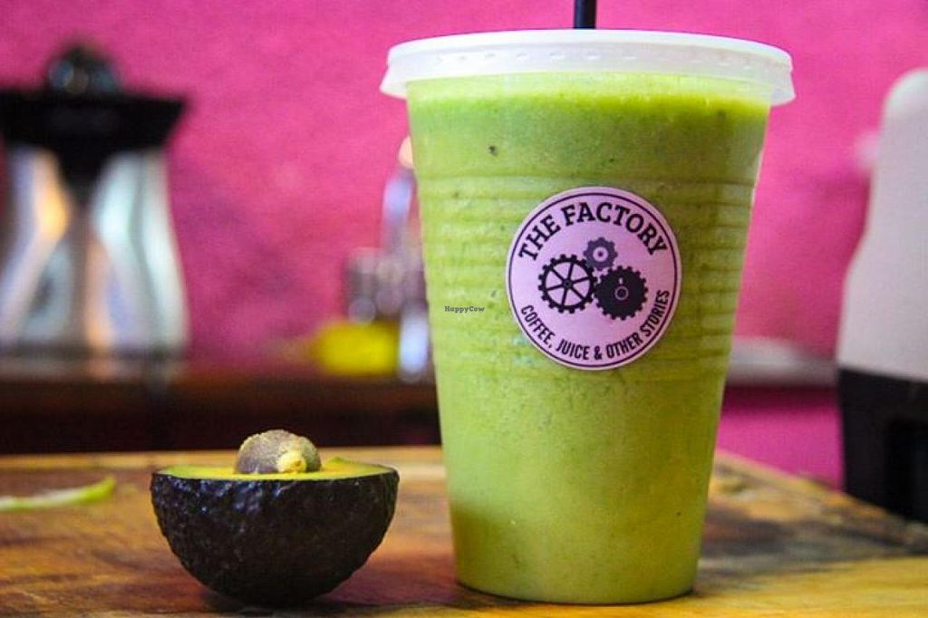 """Photo of The Factory - Palermo  by <a href=""""/members/profile/community"""">community</a> <br/>avocado smoothie  <br/> April 4, 2015  - <a href='/contact/abuse/image/56778/97758'>Report</a>"""