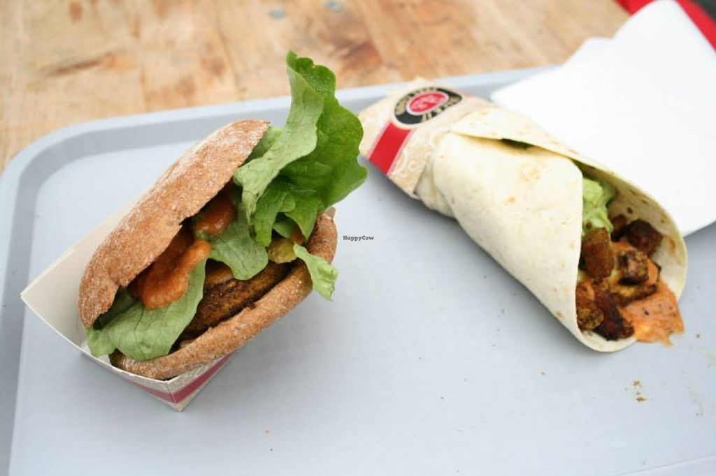 "Photo of Armin's Tempeh  by <a href=""/members/profile/LenaEmrich"">LenaEmrich</a> <br/>Tempeh-Burger und Wrap <br/> July 29, 2015  - <a href='/contact/abuse/image/56791/111464'>Report</a>"