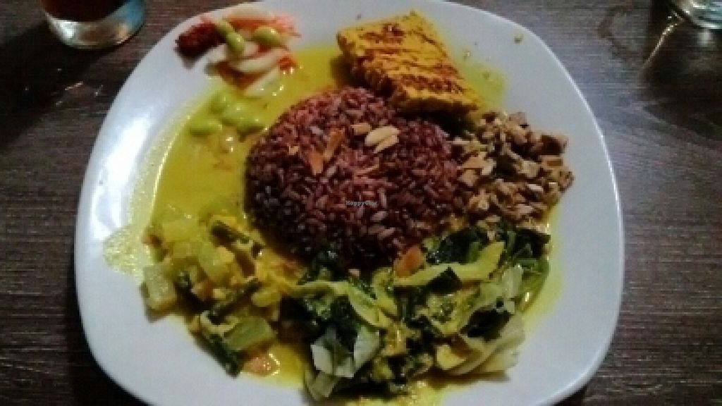 "Photo of Wulan Vegetarian Warung  by <a href=""/members/profile/LilacHippy"">LilacHippy</a> <br/>Tenpeh curry <br/> July 19, 2016  - <a href='/contact/abuse/image/56812/160894'>Report</a>"
