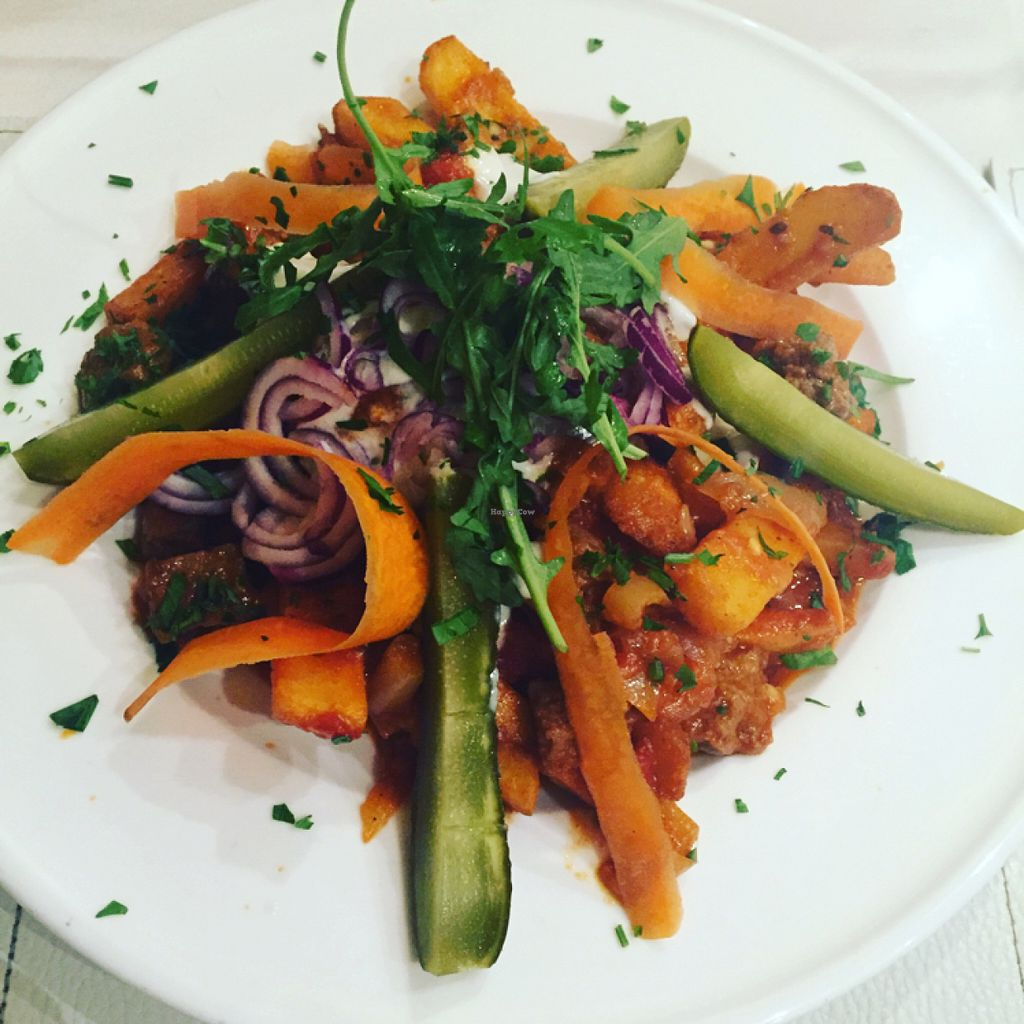 """Photo of CLOSED: Napfenyes Bistro  by <a href=""""/members/profile/Ermergerditsvegan"""">Ermergerditsvegan</a> <br/>delicious <br/> June 18, 2016  - <a href='/contact/abuse/image/56837/154690'>Report</a>"""