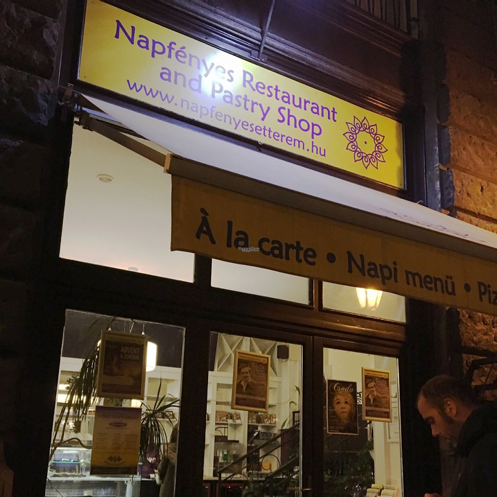 """Photo of CLOSED: Napfenyes Bistro  by <a href=""""/members/profile/Vegangypsy"""">Vegangypsy</a> <br/>Shop exterior <br/> December 2, 2016  - <a href='/contact/abuse/image/56837/196804'>Report</a>"""