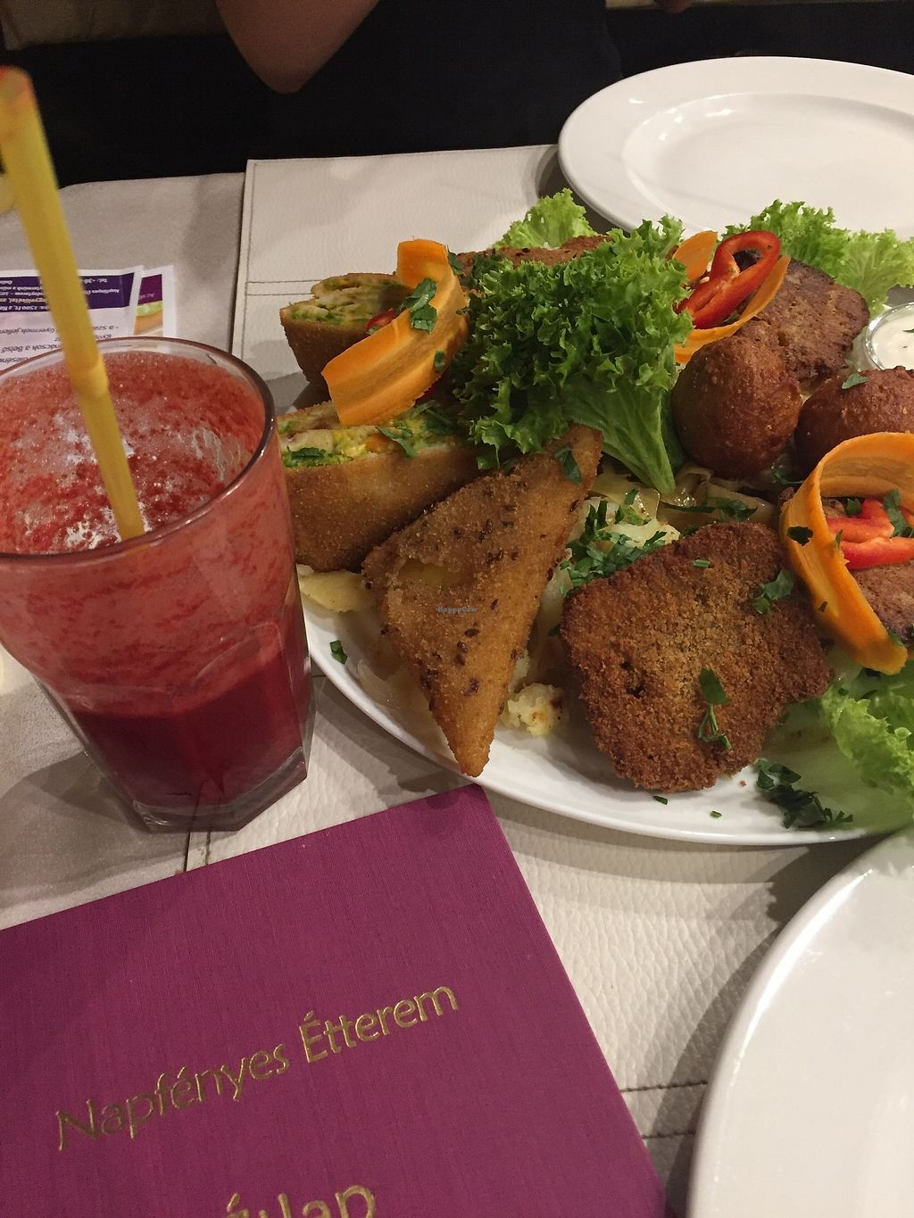 """Photo of CLOSED: Napfenyes Bistro  by <a href=""""/members/profile/Wendyw"""">Wendyw</a> <br/>Napfenyes platter for two <br/> July 22, 2017  - <a href='/contact/abuse/image/56837/283383'>Report</a>"""