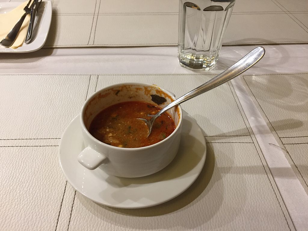 """Photo of CLOSED: Napfenyes Bistro  by <a href=""""/members/profile/23rachelb"""">23rachelb</a> <br/>Goulash soup  <br/> October 20, 2017  - <a href='/contact/abuse/image/56837/316984'>Report</a>"""