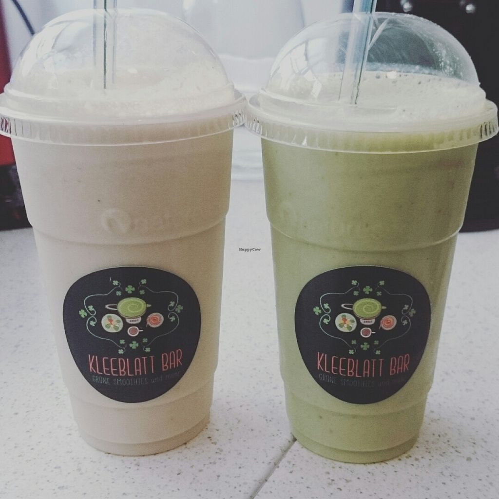 """Photo of CLOSED: Kleeblatt Bar  by <a href=""""/members/profile/Kleeblatt%20Bar"""">Kleeblatt Bar</a> <br/>Leckere Bio-Smoothies, auch mit Superfoods <br/> November 23, 2015  - <a href='/contact/abuse/image/56838/125981'>Report</a>"""