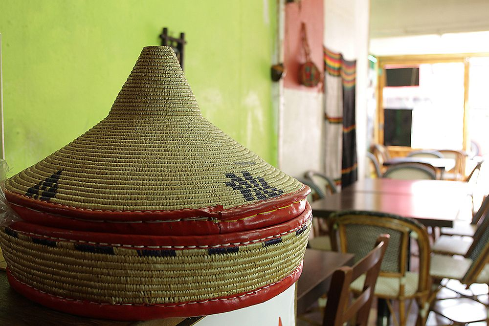 """Photo of Andu Caffe  by <a href=""""/members/profile/AnduCafe"""">AnduCafe</a> <br/>Andu Cafe interior look with Mesob - Ethiopian traditional food container <br/> June 28, 2017  - <a href='/contact/abuse/image/56847/274316'>Report</a>"""