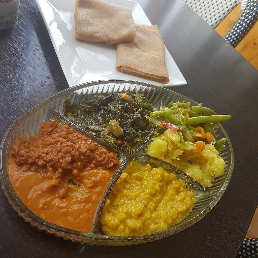 """Photo of Andu Caffe  by <a href=""""/members/profile/kennyp353"""">kennyp353</a> <br/>Set meal, £7. Delicious <br/> August 15, 2017  - <a href='/contact/abuse/image/56847/292992'>Report</a>"""