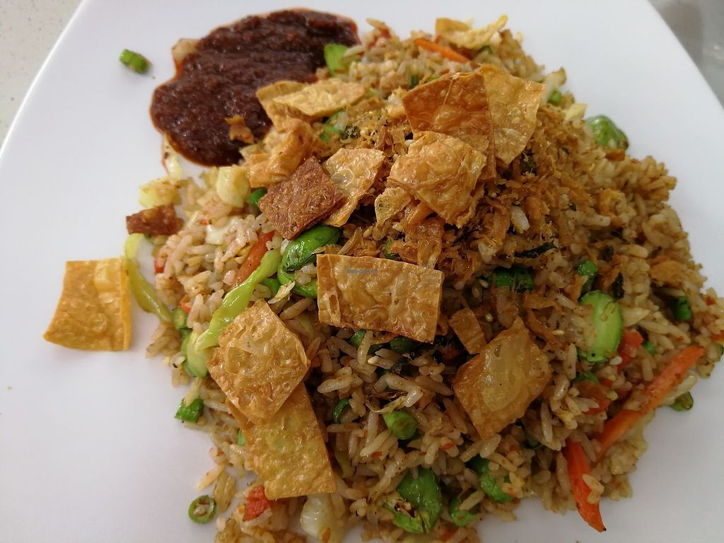 """Photo of He Xi Vegetarian  by <a href=""""/members/profile/JimmySeah"""">JimmySeah</a> <br/>Fried Rice  <br/> December 3, 2017  - <a href='/contact/abuse/image/56877/331713'>Report</a>"""