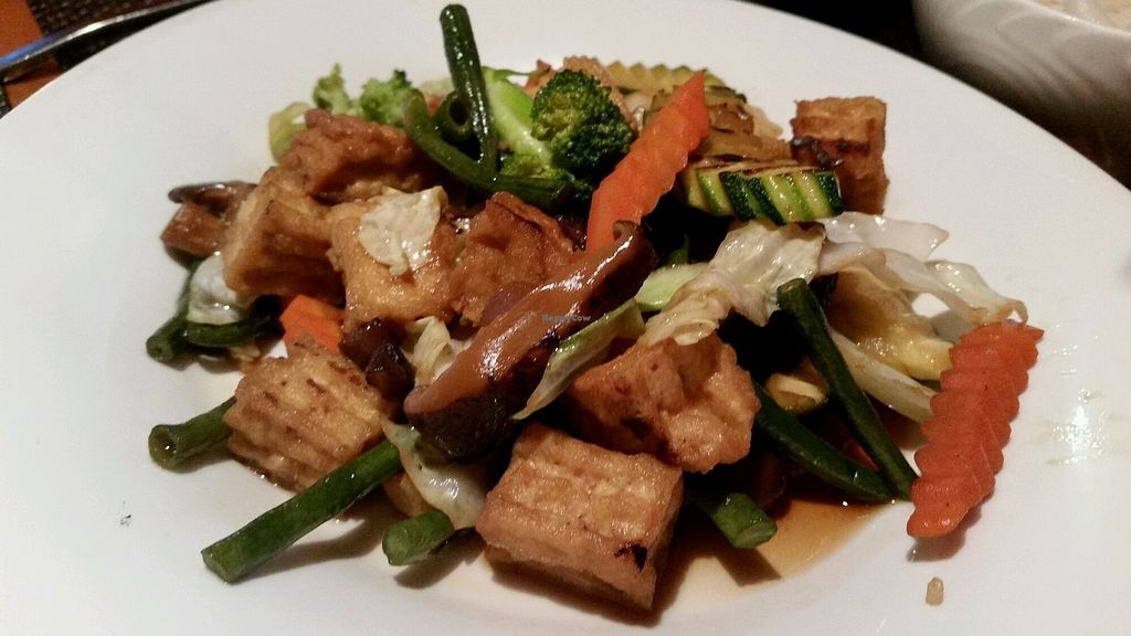 """Photo of Maui Thai  by <a href=""""/members/profile/eric"""">eric</a> <br/>stir fry vegetable with tofu - salty though <br/> August 8, 2017  - <a href='/contact/abuse/image/56895/290327'>Report</a>"""