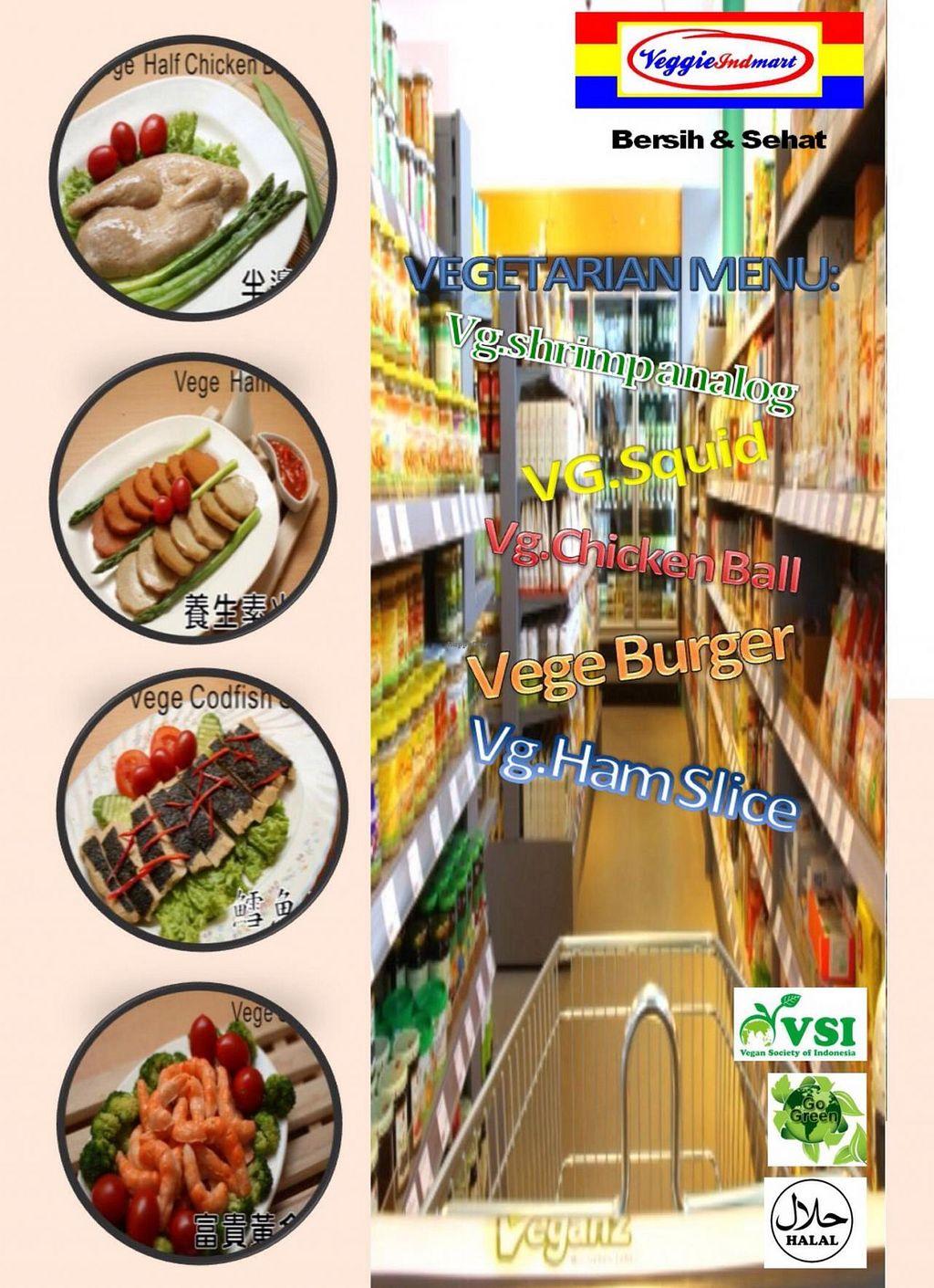 "Photo of Vegetarian Indonesia Market  by <a href=""/members/profile/Sutio"">Sutio</a> <br/>Vegetarian : Distributor Makanan Beku Vegetarian di Surabaya Makanan sehat , toko bahan makanan vegetarian , veg food , perusahaan makanan sayur - sayuran , daging vegetarian , frozen food vegetarian suppliers , vegetarian distributor  <br/> March 30, 2015  - <a href='/contact/abuse/image/56899/97363'>Report</a>"