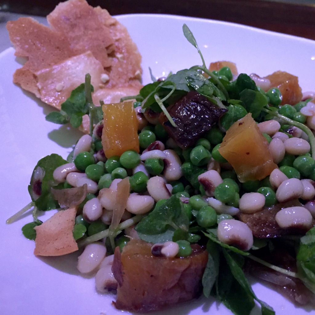 "Photo of The Kitchen on George  by <a href=""/members/profile/tsathoggua101"">tsathoggua101</a> <br/>Minted Pea & Roasted Beet Salad <br/> April 3, 2016  - <a href='/contact/abuse/image/56919/142564'>Report</a>"