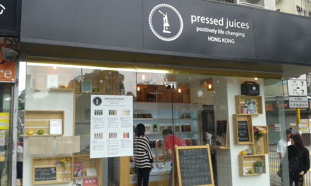"""Photo of Pressed Juices - Taikoo  by <a href=""""/members/profile/Stevie"""">Stevie</a> <br/>Shop front <br/> April 1, 2015  - <a href='/contact/abuse/image/56982/97543'>Report</a>"""