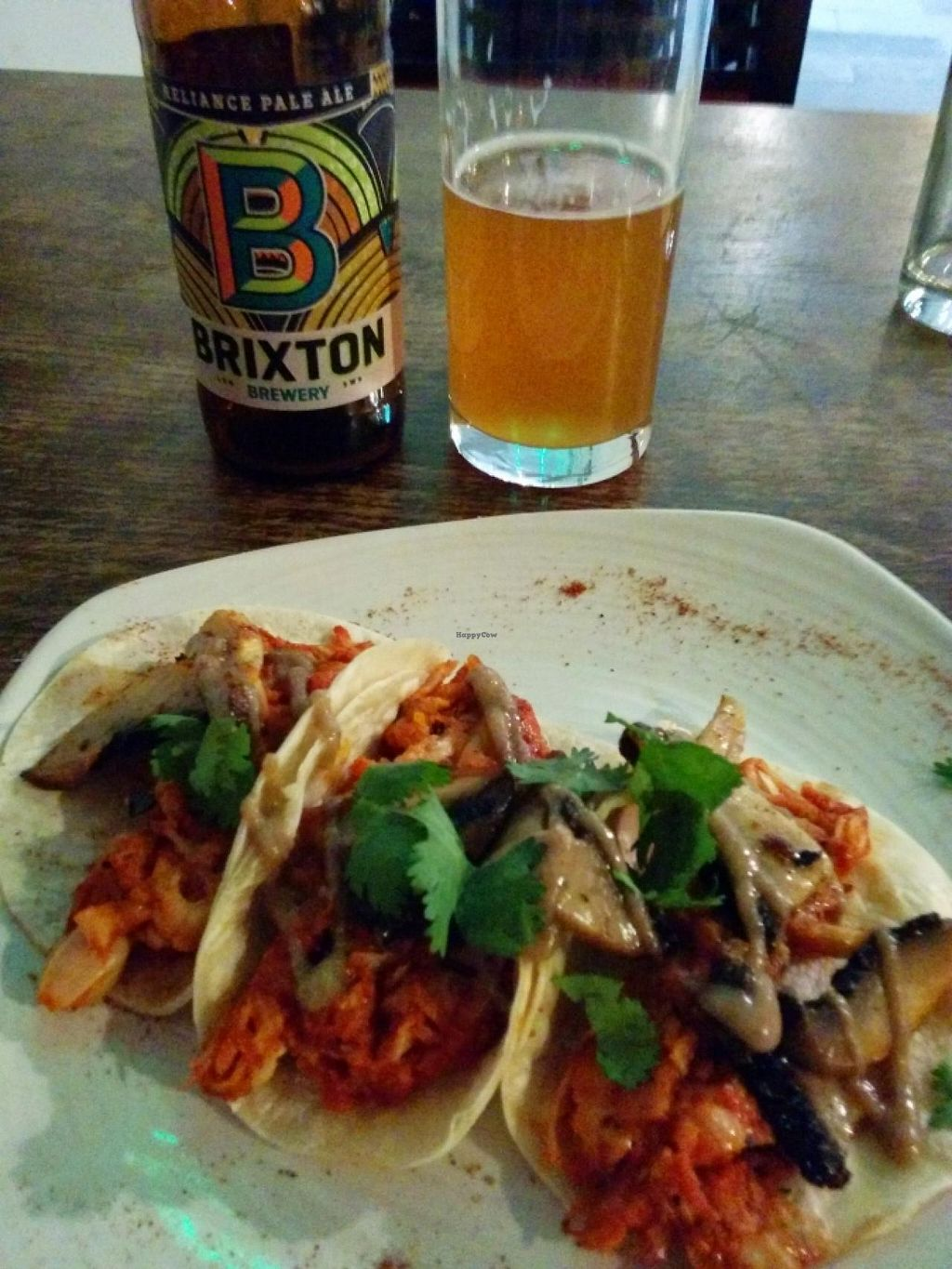 """Photo of CLOSED: Veg Bar  by <a href=""""/members/profile/CLRtraveller"""">CLRtraveller</a> <br/>jackfruit tacos <br/> June 17, 2015  - <a href='/contact/abuse/image/56985/106224'>Report</a>"""