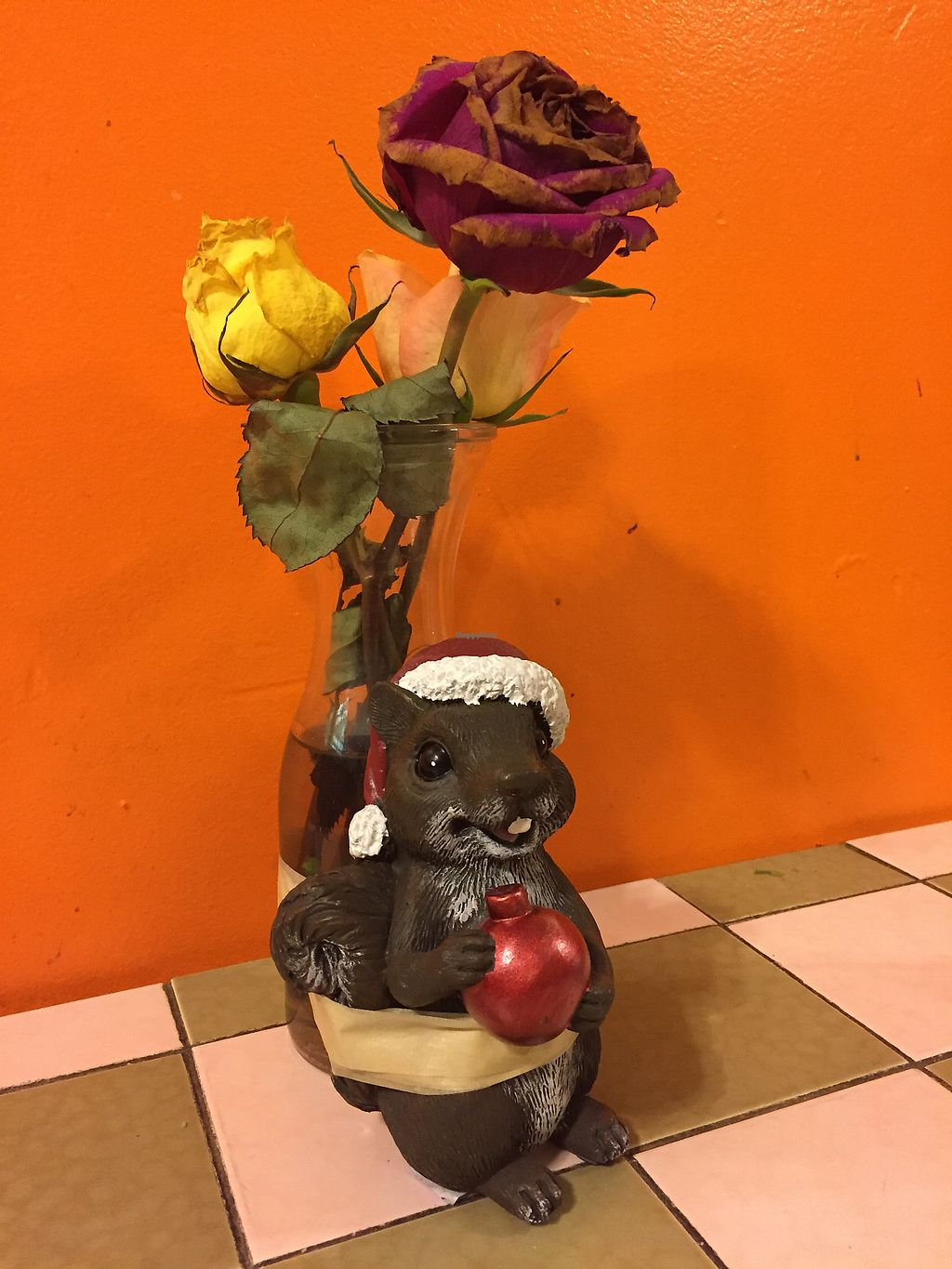 """Photo of Los Taquitos Taqueria  by <a href=""""/members/profile/VeganDedeLee"""">VeganDedeLee</a> <br/>Love the decor!  <br/> January 27, 2018  - <a href='/contact/abuse/image/56990/351298'>Report</a>"""