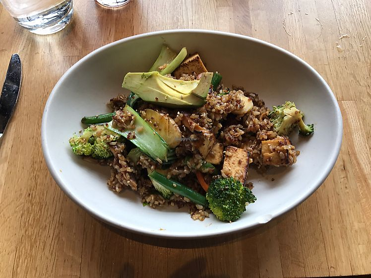 "Photo of True Food Kitchen  by <a href=""/members/profile/KerryElise"">KerryElise</a> <br/>Tofu grain bowl  <br/> June 12, 2017  - <a href='/contact/abuse/image/56993/268288'>Report</a>"