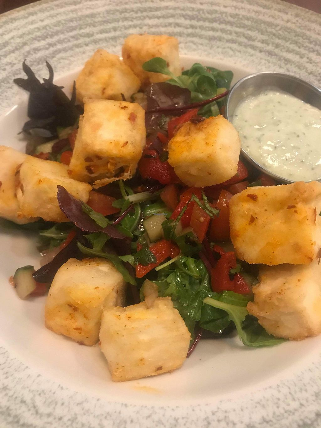 """Photo of Home Restaurant  by <a href=""""/members/profile/CiaraSlevin"""">CiaraSlevin</a> <br/>Tofu Salad Main <br/> April 10, 2018  - <a href='/contact/abuse/image/57001/383495'>Report</a>"""