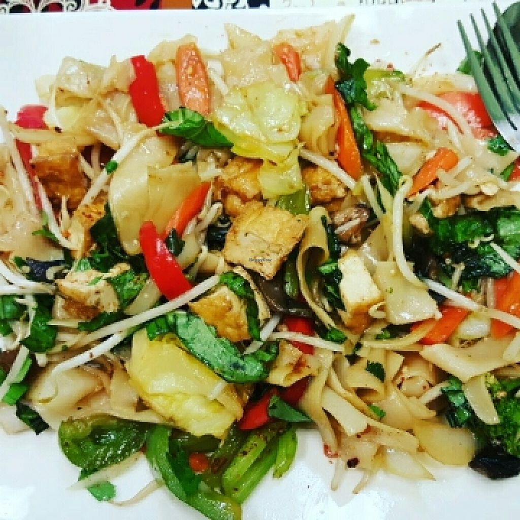 """Photo of CLOSED: Green Lotus Vegan  by <a href=""""/members/profile/VegManda"""">VegManda</a> <br/>Vegan Spicy Noodle <br/> March 6, 2016  - <a href='/contact/abuse/image/57012/139043'>Report</a>"""