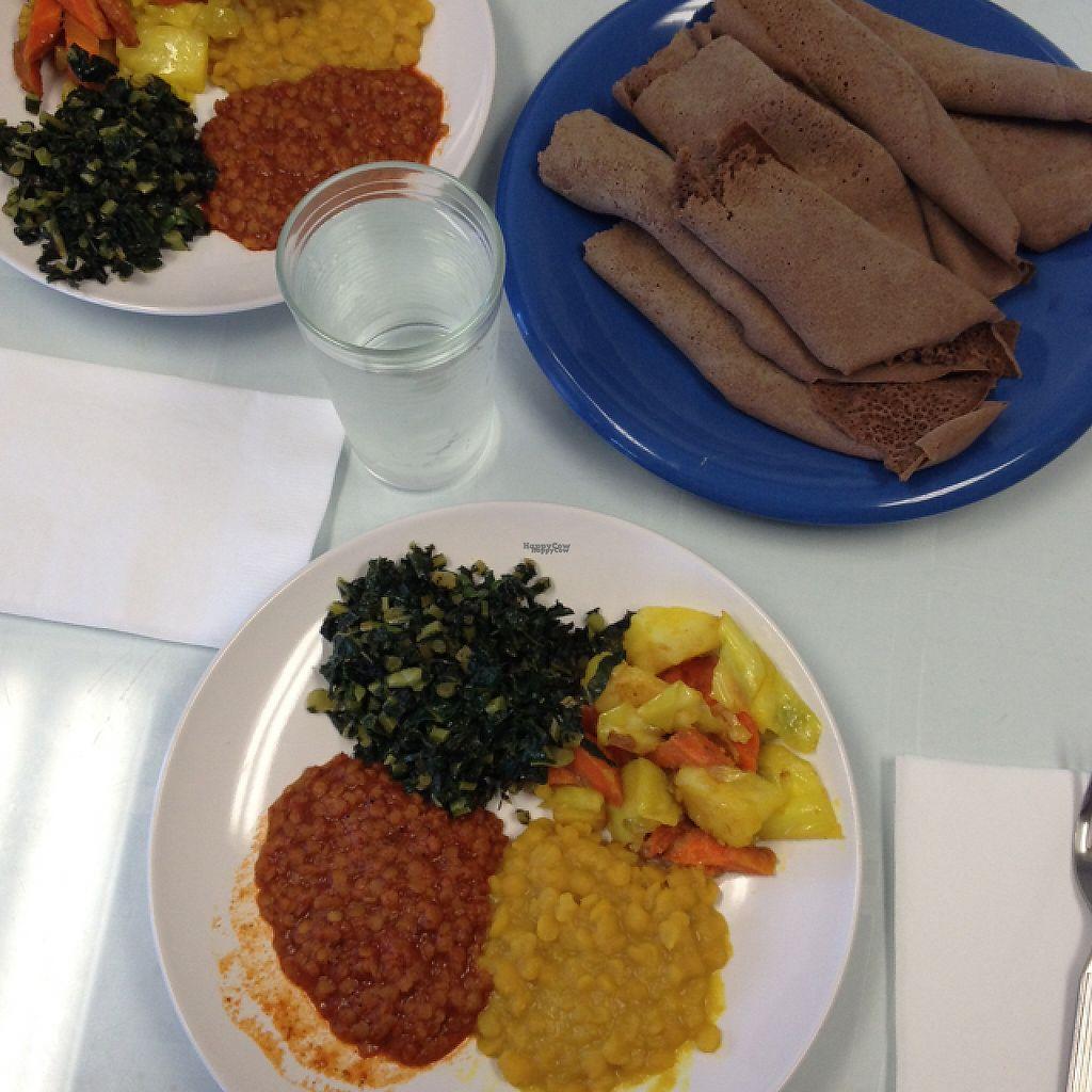 "Photo of Kaffa Ethiopian Cuisine  by <a href=""/members/profile/Julianabanana"">Julianabanana</a> <br/>the medium plate <br/> January 15, 2017  - <a href='/contact/abuse/image/57024/212039'>Report</a>"