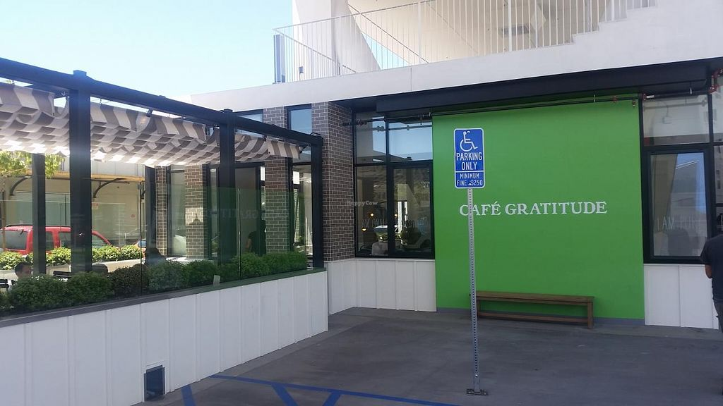 """Photo of Cafe Gratitude - DTLA  by <a href=""""/members/profile/kenvegan"""" class=""""title__title"""">kenvegan</a> <br/>outside <br/> July 12, 2015  - <a href='/contact/abuse/image/57026/109126'>Report</a>"""
