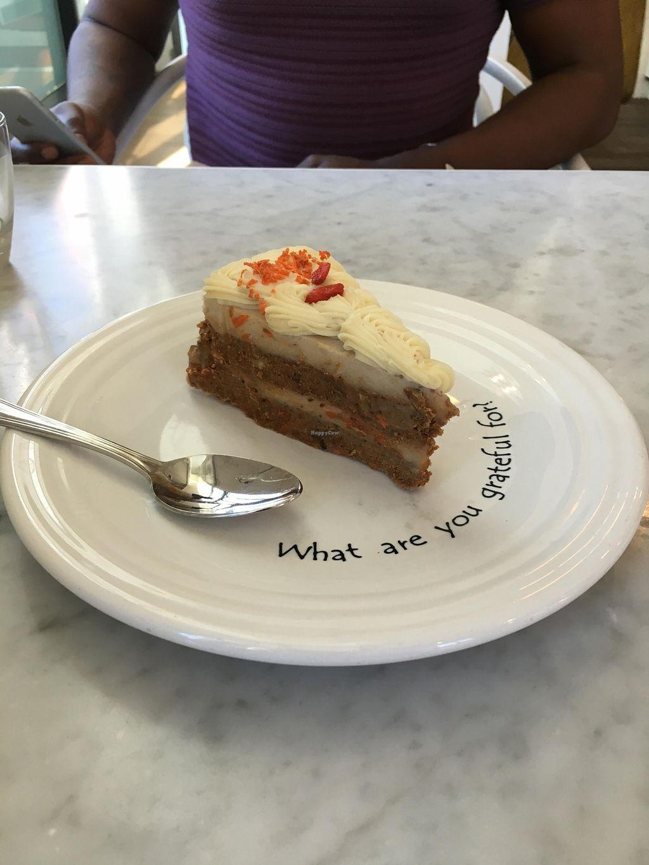 "Photo of Cafe Gratitude - DTLA  by <a href=""/members/profile/veganzinga"" class=""title__title"">veganzinga</a> <br/>Carrot Cake <br/> December 31, 2015  - <a href='/contact/abuse/image/57026/130532'>Report</a>"