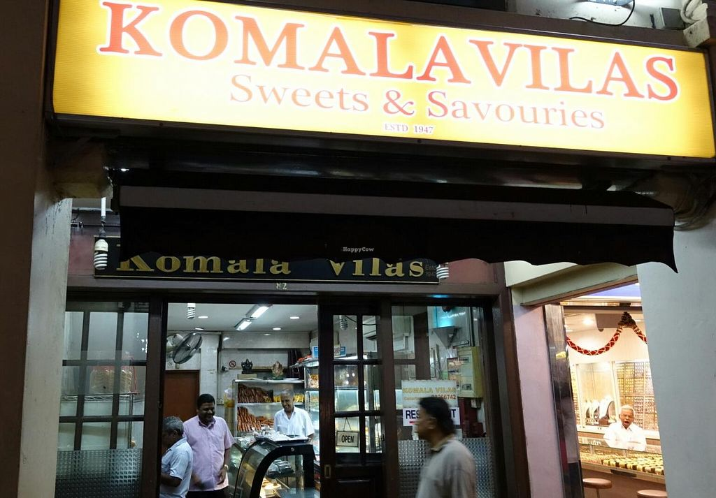 "Photo of Komala Vilas Sweets and Savouries  by <a href=""/members/profile/JimmySeah"">JimmySeah</a> <br/>shop front  <br/> March 31, 2015  - <a href='/contact/abuse/image/57036/97477'>Report</a>"
