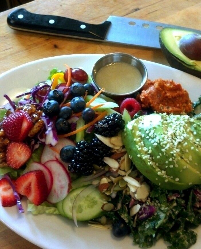 """Photo of Season's Harvest Cafe  by <a href=""""/members/profile/shcafe"""">shcafe</a> <br/>Raw Entree <br/> September 15, 2016  - <a href='/contact/abuse/image/57069/175775'>Report</a>"""