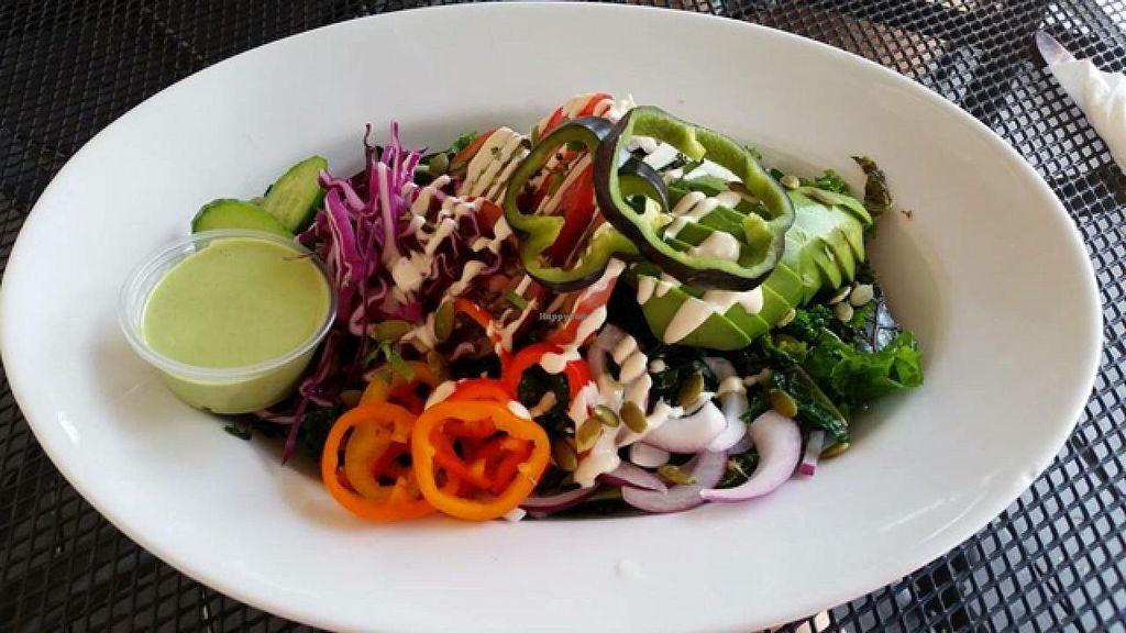 """Photo of Season's Harvest Cafe  by <a href=""""/members/profile/Bethanykscanlon"""">Bethanykscanlon</a> <br/>Raw vegan meal from Season's Harvest Cafe  <br/> April 3, 2015  - <a href='/contact/abuse/image/57069/97711'>Report</a>"""