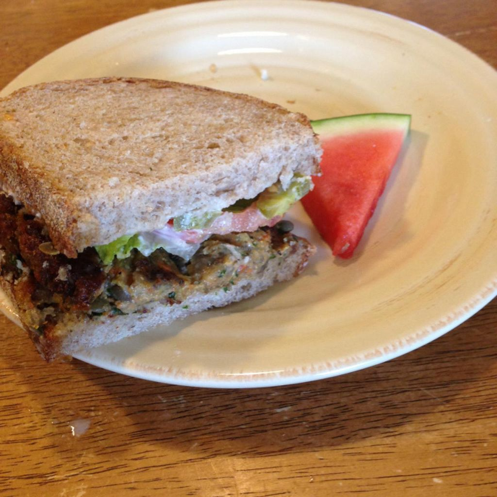 """Photo of Willows Plant-Based Eatery  by <a href=""""/members/profile/toriborialis"""">toriborialis</a> <br/>Southwest sandwich <br/> April 21, 2015  - <a href='/contact/abuse/image/57078/99844'>Report</a>"""