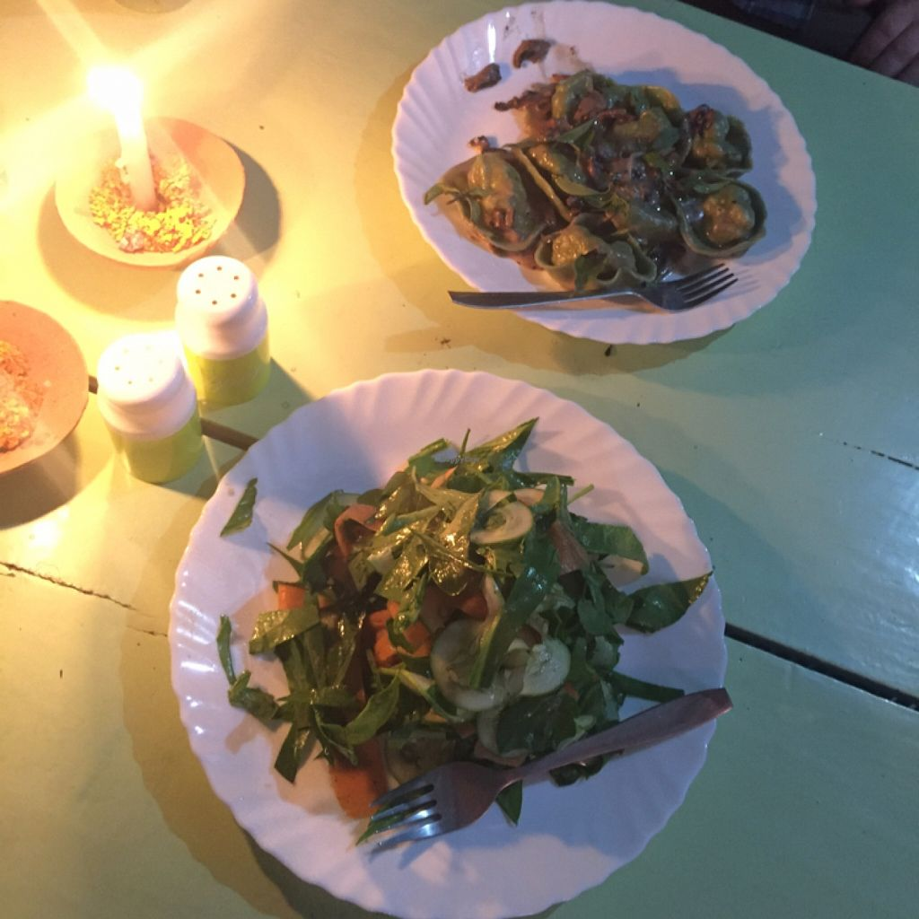 """Photo of Vegan and Raw  by <a href=""""/members/profile/ariamae"""">ariamae</a> <br/>Big, beautiful salad and pasta dishes! <br/> March 24, 2016  - <a href='/contact/abuse/image/57085/141208'>Report</a>"""