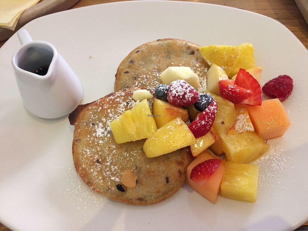 """Photo of Pappa Reale  by <a href=""""/members/profile/LiaTraballero"""">LiaTraballero</a> <br/>Vegan Pancake  you can choose the topping <br/> August 13, 2017  - <a href='/contact/abuse/image/57090/292261'>Report</a>"""