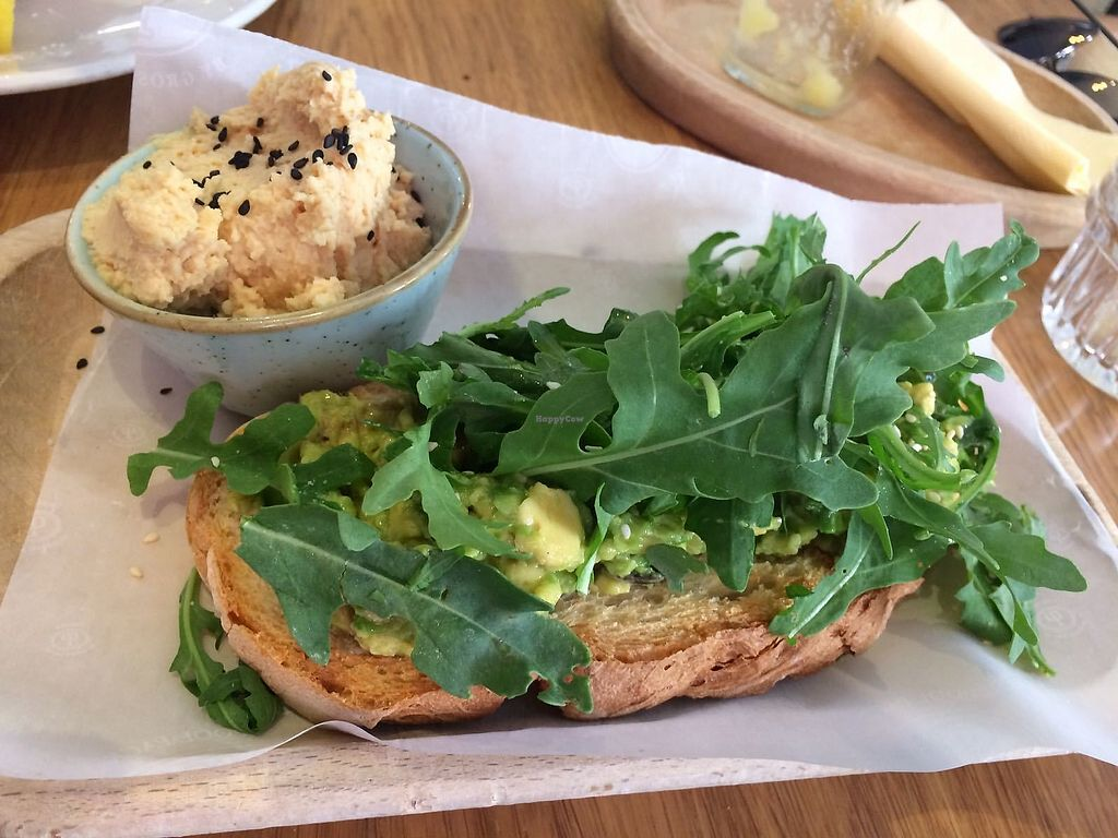 """Photo of Pappa Reale  by <a href=""""/members/profile/LiaTraballero"""">LiaTraballero</a> <br/>Avocado toast with hummus <br/> August 13, 2017  - <a href='/contact/abuse/image/57090/292262'>Report</a>"""