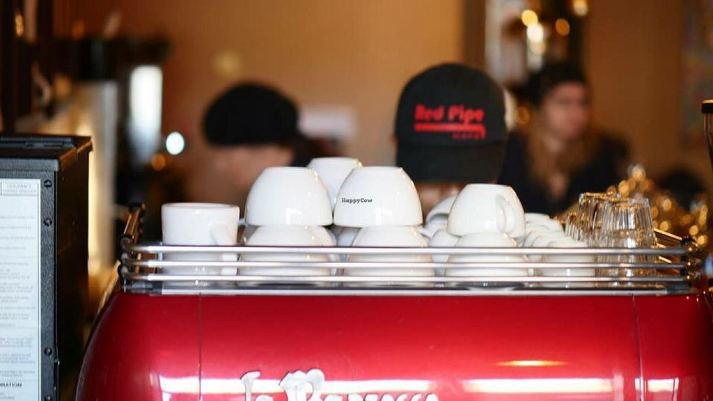 """Photo of Red Pipe Organic Cafe  by <a href=""""/members/profile/Babyshka"""">Babyshka</a> <br/>Counterculture coffee <br/> April 3, 2015  - <a href='/contact/abuse/image/57108/97704'>Report</a>"""