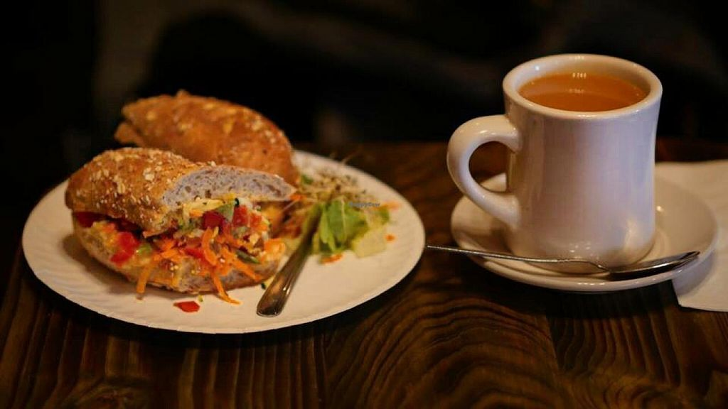 """Photo of Red Pipe Organic Cafe  by <a href=""""/members/profile/Babyshka"""">Babyshka</a> <br/>Lunch time  <br/> April 3, 2015  - <a href='/contact/abuse/image/57108/97707'>Report</a>"""