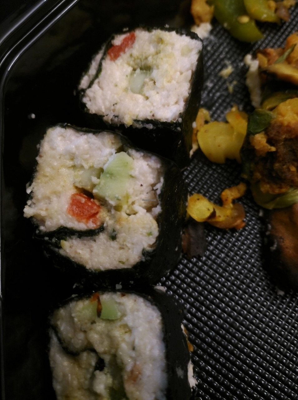 "Photo of Moonfood  by <a href=""/members/profile/mcquinten2"">mcquinten2</a> <br/>vegan sushi <br/> November 25, 2017  - <a href='/contact/abuse/image/57113/328964'>Report</a>"
