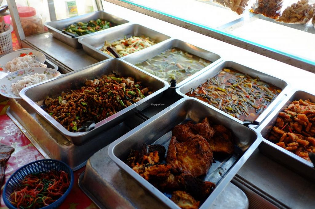 """Photo of Veg Restaurant - Maenam Khwae  by <a href=""""/members/profile/MMaree"""">MMaree</a> <br/>Food buffet with quite some choice <br/> April 4, 2015  - <a href='/contact/abuse/image/57118/97836'>Report</a>"""
