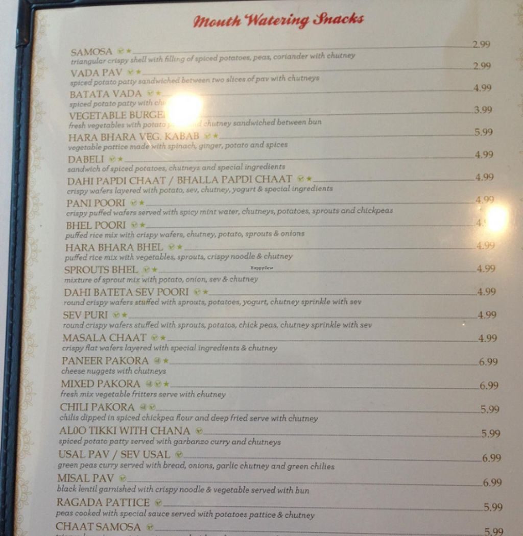 """Photo of Chaat Bhavan  by <a href=""""/members/profile/Kyliens"""">Kyliens</a> <br/>menu1 <br/> April 5, 2015  - <a href='/contact/abuse/image/57127/97895'>Report</a>"""