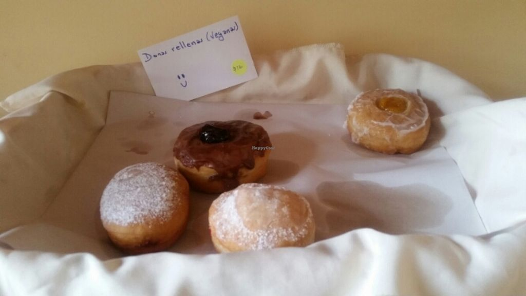 """Photo of Mana  by <a href=""""/members/profile/kenvegan"""">kenvegan</a> <br/>vegan jelly doughnuts <br/> December 4, 2015  - <a href='/contact/abuse/image/57142/127167'>Report</a>"""