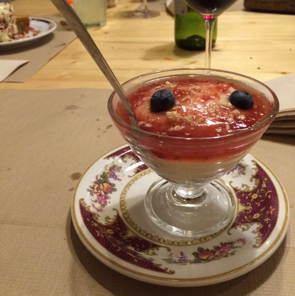 Photo of Integral Figueres  by EvaMpatshi <br/>crumble yoghurt jam dessert <br/> September 24, 2015  - <a href='/contact/abuse/image/57143/118959'>Report</a>