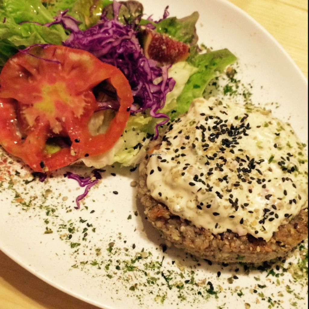 Photo of Integral Figueres  by EvaMpatshi <br/>delicious burger <br/> September 25, 2015  - <a href='/contact/abuse/image/57143/118991'>Report</a>