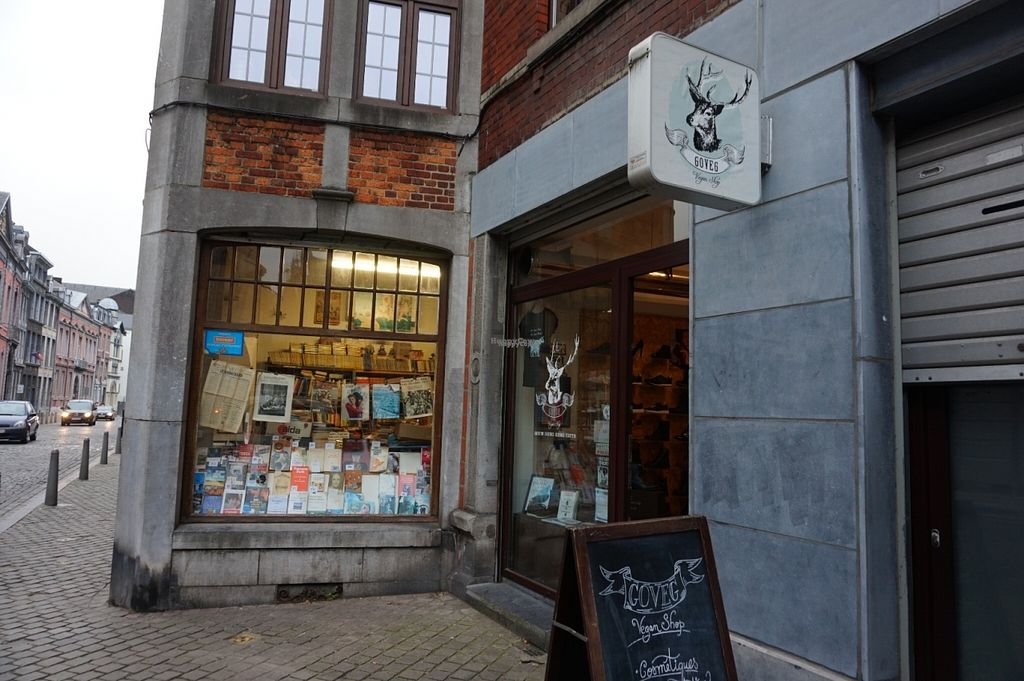 """Photo of Goveg Vegan Shop  by <a href=""""/members/profile/MMaree"""">MMaree</a> <br/>Shop's front <br/> October 29, 2016  - <a href='/contact/abuse/image/57148/185163'>Report</a>"""
