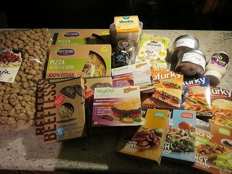 """Photo of Goveg Vegan Shop  by <a href=""""/members/profile/TrudiBruges"""">TrudiBruges</a> <br/>products bought at GoVeg, Liège <br/> November 19, 2017  - <a href='/contact/abuse/image/57148/326980'>Report</a>"""