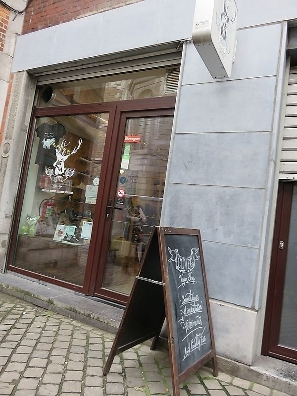 """Photo of Goveg Vegan Shop  by <a href=""""/members/profile/TrudiBruges"""">TrudiBruges</a> <br/>front of store, GoVeg, Liège <br/> November 19, 2017  - <a href='/contact/abuse/image/57148/326981'>Report</a>"""
